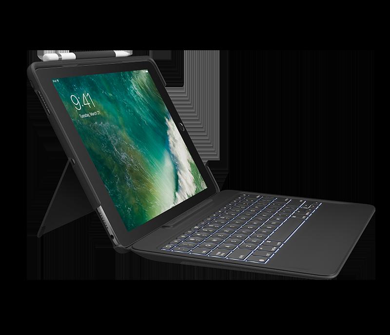 Logitech SLIM COMBO - iPad Pro 10.5 inch - BLACK