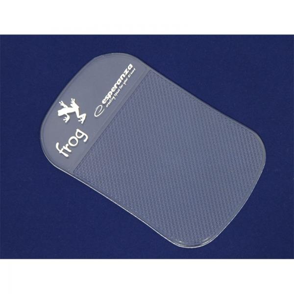 Esperanza EF101CL FROG protiskluzová podložka pro mobilní telefony,transparentní
