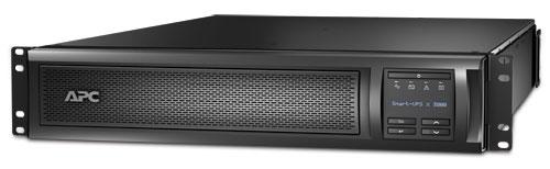 APC Smart-UPS X 3000VA (2700W) Rack 2U/Tower LCD, hl. 66,7 cm, with network card
