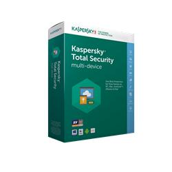 Kaspersky Total Security multi-device 2018 CZ, 1 zařízení, 12 měsíců - prodloužení (ESD)
