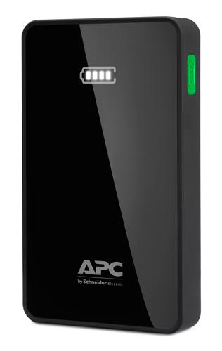 APC Mobile Power Bank, 10000mAh Li-polymer (for smatphones, tablets) Black