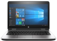 HP ProBook 640 G3 i5-7200U 14 FHD CAM, 8GB, 256GB TurboG2, DVDRW, ac, BT, FpR, no backlit keyb, Win10Pro