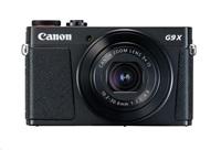 Canon PowerShot G9X Mark II, 20MPix, 3x zoom, Wi-Fi, NFC - černý