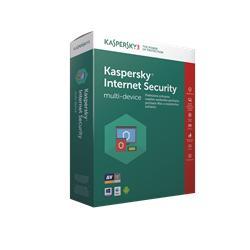 Kaspersky Internet Security multi-device 2018 CZ, 3 zařízení, 12 měsíců - (ESD)