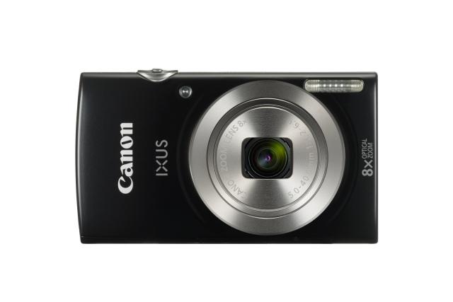 Canon IXUS 185 BLACK , Essential KIT (+neopren.pouzdro)