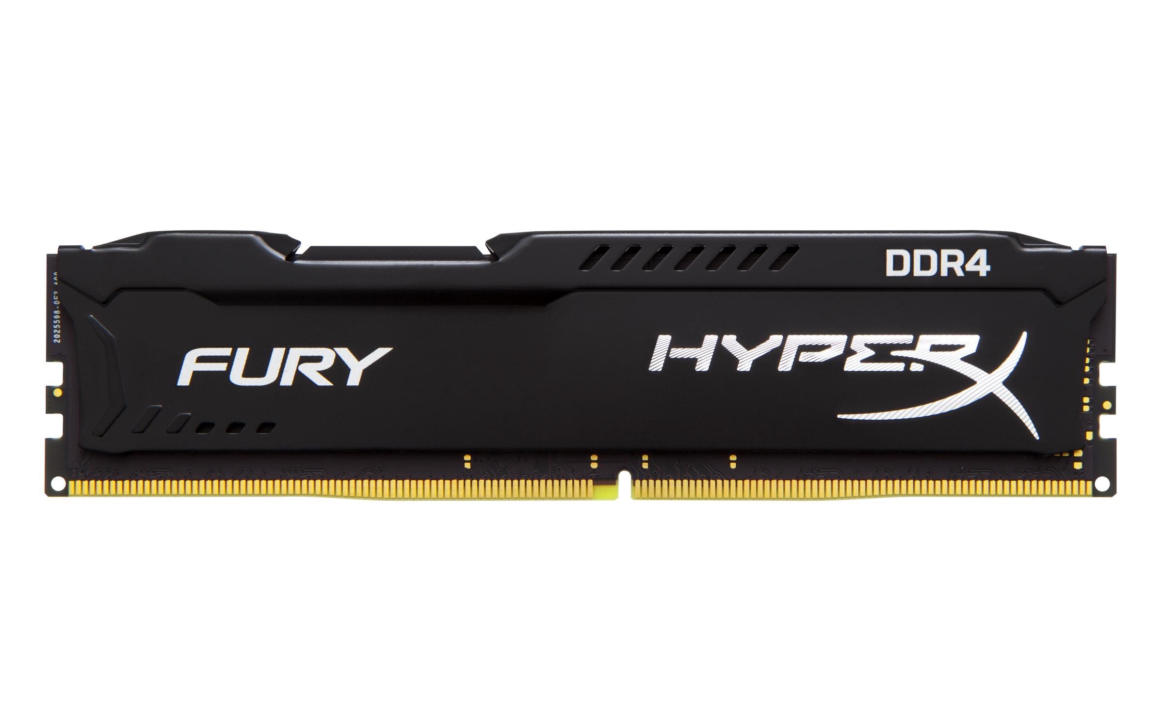 KINGSTON 8GB 2133MHz DDR4 CL14 DIMM HyperX FURY Black