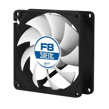 Arctic F8 Silent Case Fan - 80mm case fan with low speed
