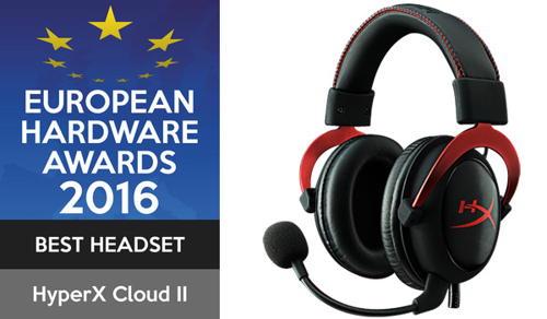 HyperX Cloud II - Pro Gaming Headset (Redl) - červený