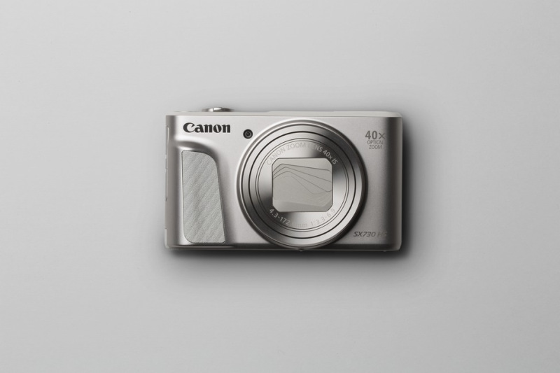 """Canon PowerShot SX730HS, Silver - 20MP, 40x zoom, 24-960mm, 3,0"""""""