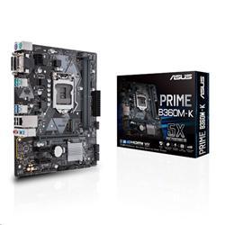 ASUS PRIME B360M-K soc.1151 B360 DDR4 mATX M.2 DVI VGA