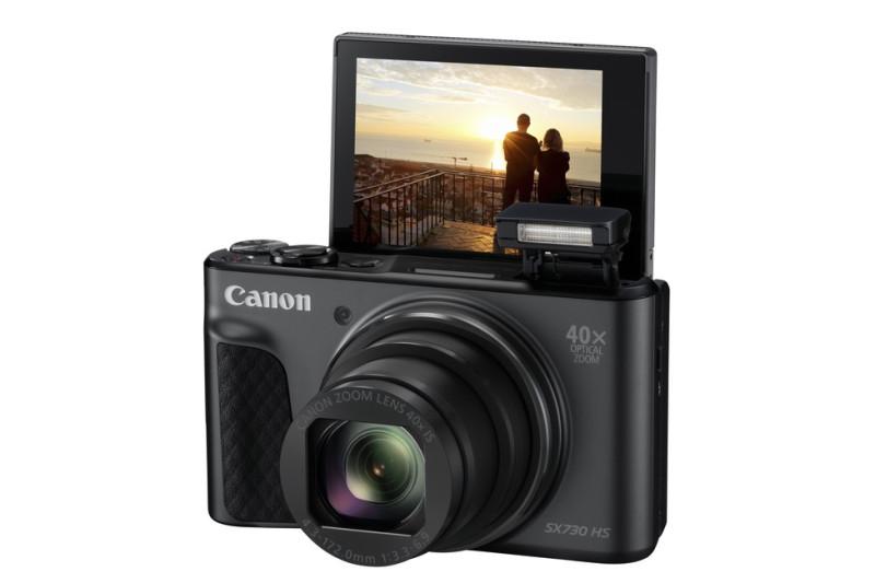 Canon PowerShot SX730HS, Black TRAVEL KIT