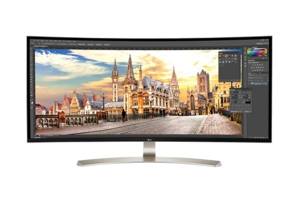 "LG 38UC99-W.AEU 38"" Curved IPS UltraWide/21:9/QHD/3840x1600/1000:1/5 ms/300 cd/m2/HDMI/USB/Display port/Repro/WHITE"
