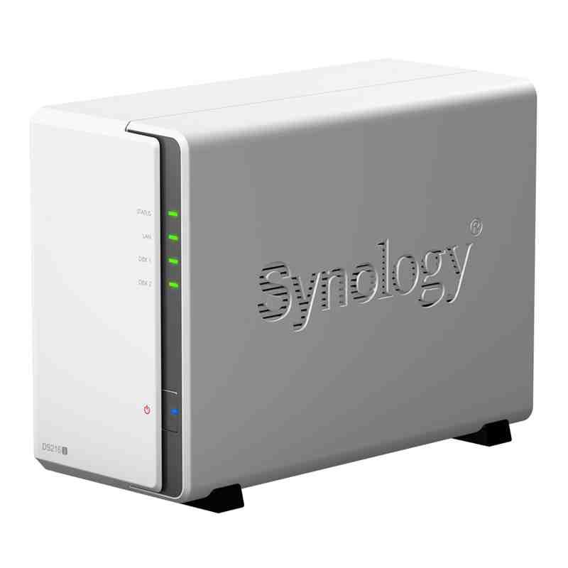 Synology NAS DS218j 2xSATA server, Gb LAN