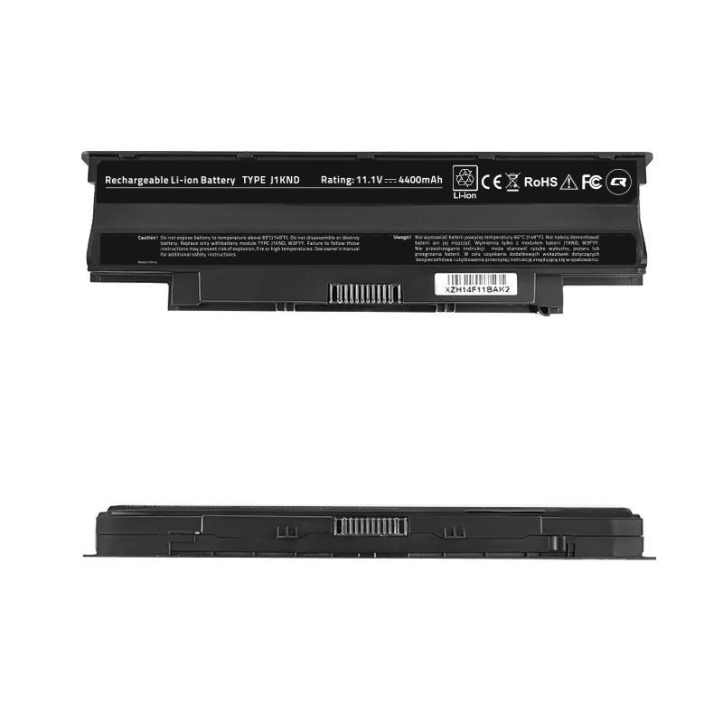 Qoltec Long Life baterie pro notebooky Dell Vostro 13R | 10.8-11.1 V | 4400mAh