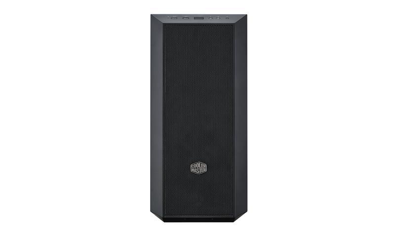 Cooler Master PC skříň MasterBox 5 černá,s předním panelem (bez zdroje)