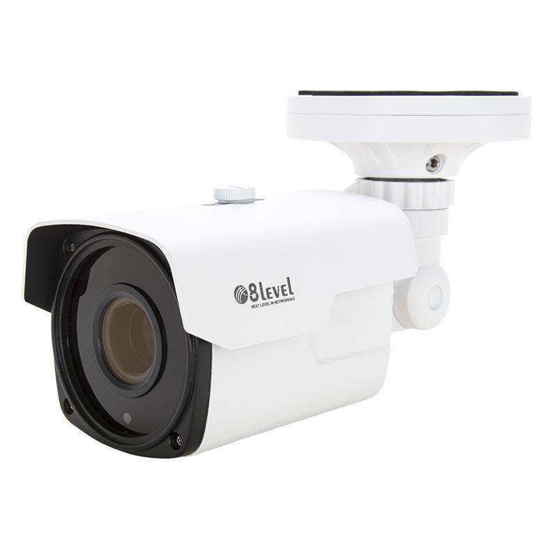 8level IP camera 2MP, 2.8-12mm, PoE, WDR, IR30m, SD