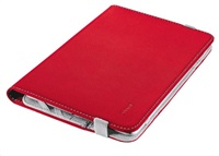 "TRUST Universal Folio Stand for 7-8"" tablets red"