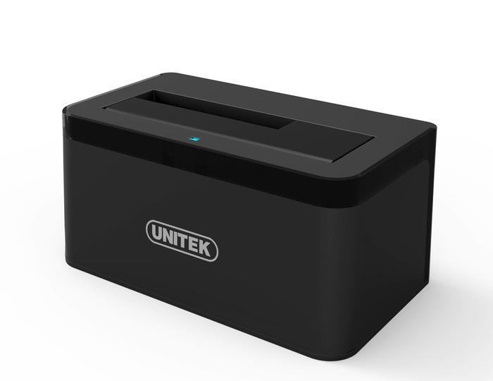 Unitek Y-3605 dokovací stanice HDD 2.5''/3.5'' SATA III - USB Typ-C, hliník