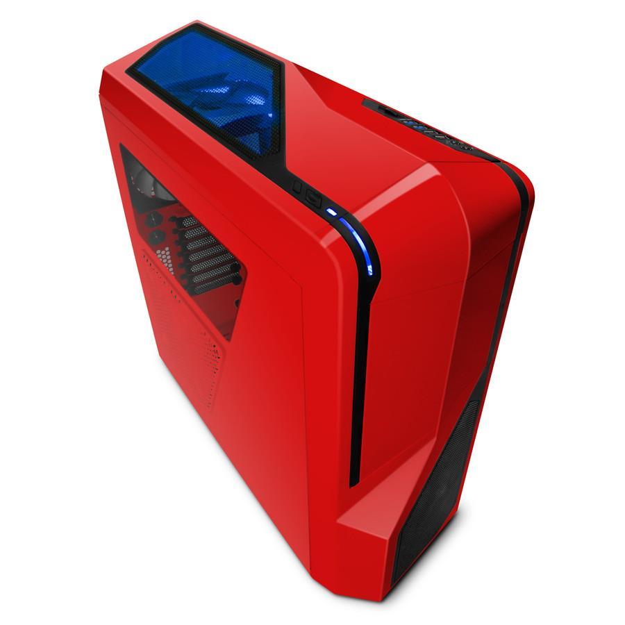 NZXT PC skříň Phantom 410 červená