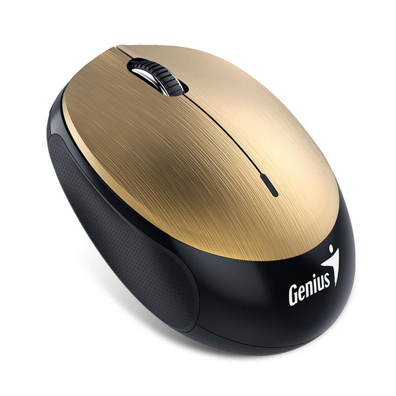 Genius Bluetooth 4.0 myš NX-9000BT, 320mAh Li-pol baterie, Gold