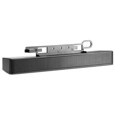 HP stereo speaker bar pro monitory HP, BLACK