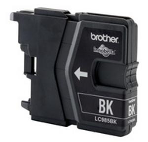 Inkoustová cartridge Brother DCP-J315W, LC-985BK, black, originál