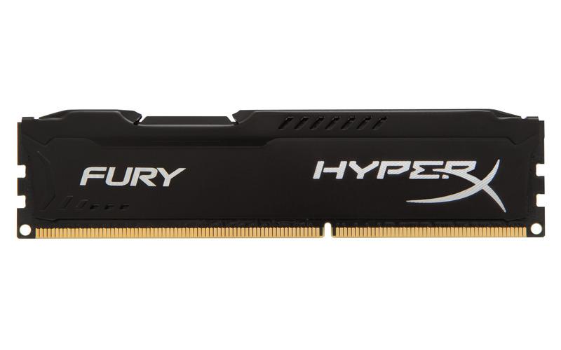 Kingston DDR3 8GB HyperX FURY DIMM 1333MHz CL9 černá