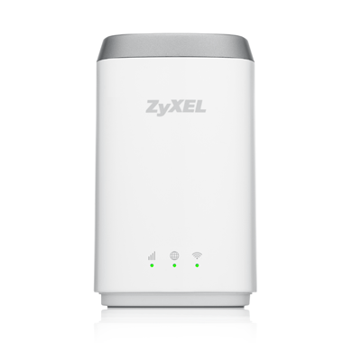 Zyxel LTE4506, 4G LTE-A 802.11ac WiFi HomeSpot Router, 300Mbps LTE-A, 1GbE LAN, Dual-band WiFi AC1200, Micro USB charger