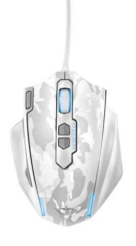 myš TRUST GXT 155W Gaming Mouse - white camouflage