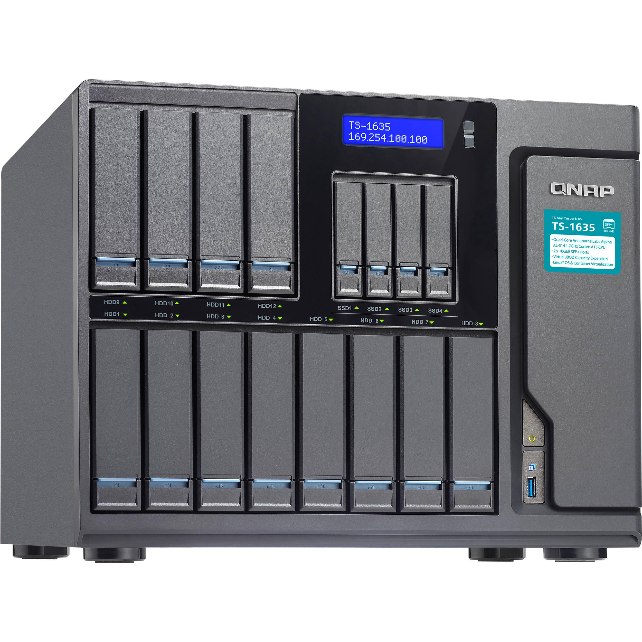 QNAP TS-1635-8G (1,7G/8GB RAM/16xSATA)