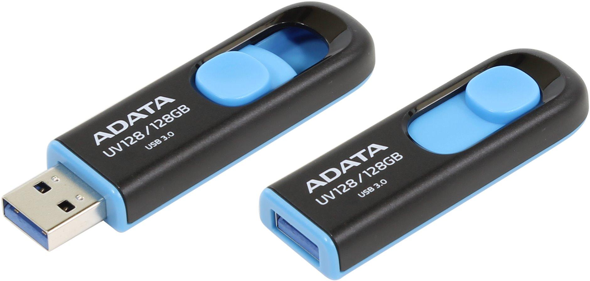 ADATA USB UV128 128GB blue (USB 3.0)