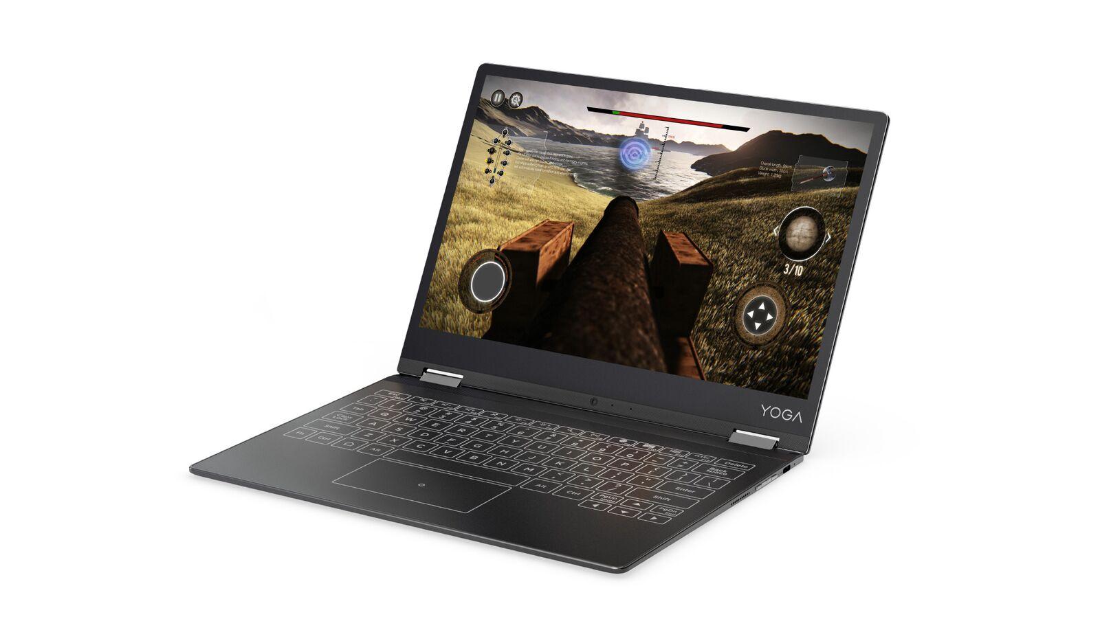 """YOGA Tablet A12 Atom x5-Z8550 QC 2,4GHz/2GB/32GB/12,2"""" HD/IPS/multitouch/HALO-klávesnice/Android6.0.1 šedá ZA1Y0028CZ"""