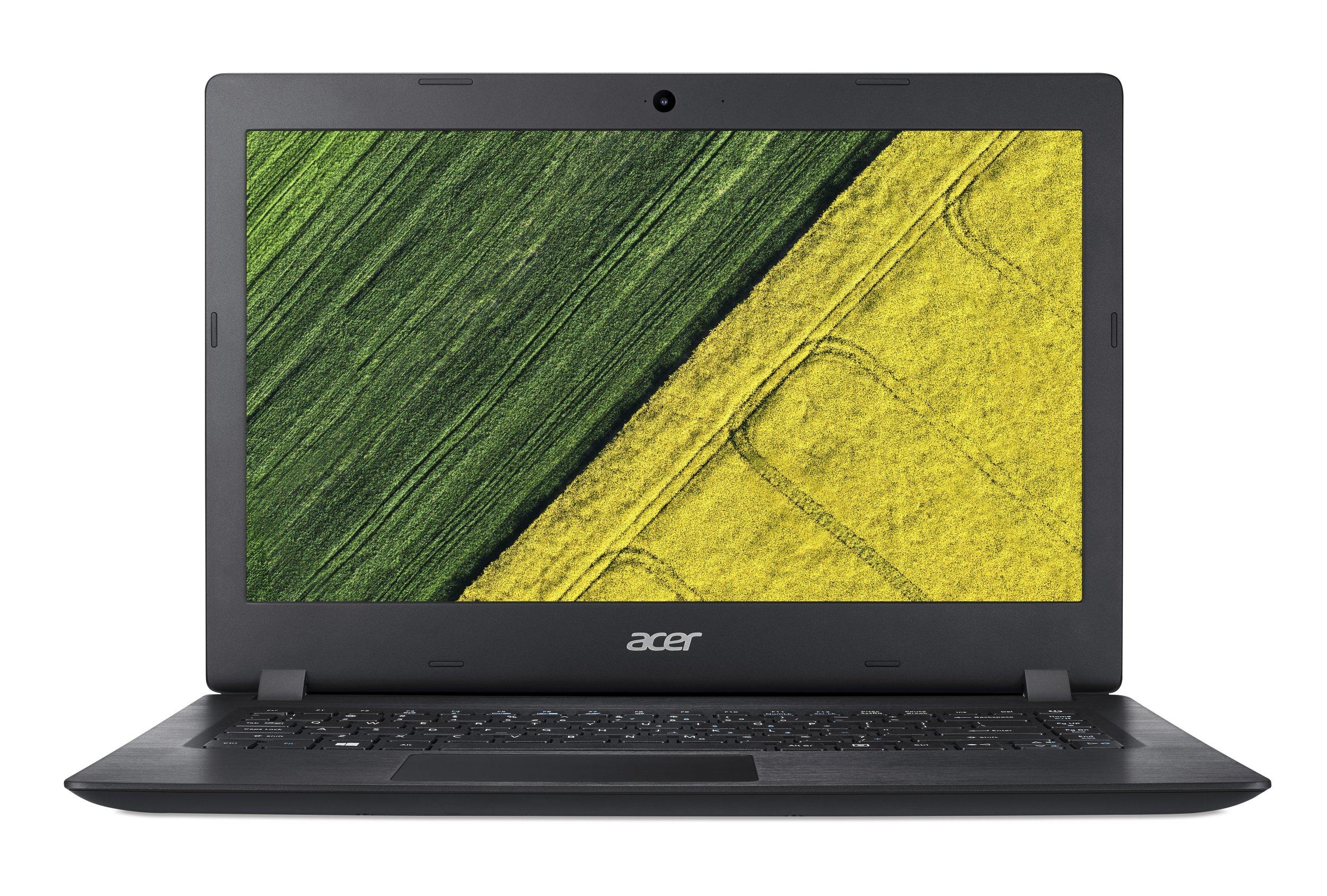 """Acer Aspire 1 (A114-31-C813) Celeron N3350/4GB+N/A/64GB+N/A/HD Graphics/14"""" HD/BT/W10 Home+Office 365/Black"""