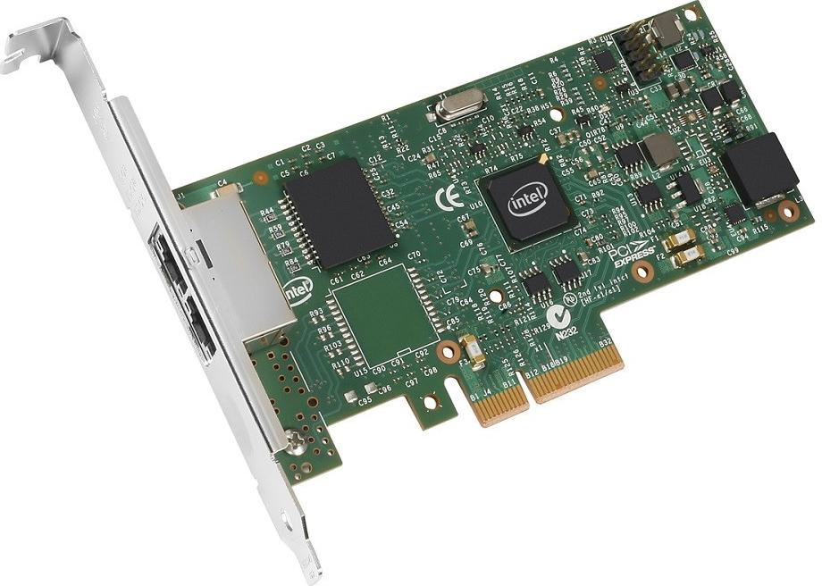 Lenovo ThinkServer I350-T2 PCIe 1Gb 2 Port Base-T Ethernet Adapter by Intel