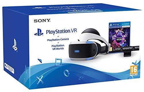 PlayStation VR + Camera + VR Worlds (hard bundle)