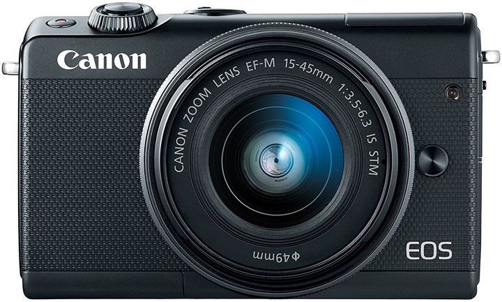 Canon EOS M100 Black + EF-M 15-45mm f/3.5-6.3 IS STM + EF-M 22mm f/2 STM