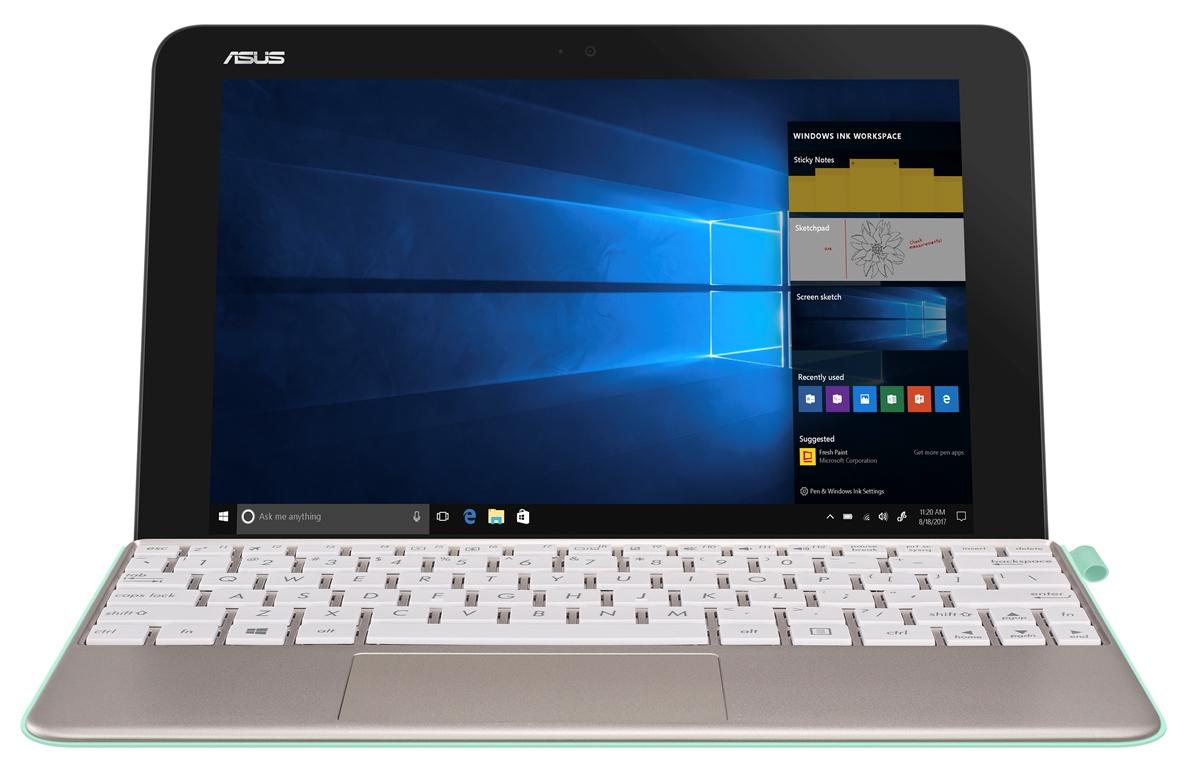 """ASUS T103HAF-GR051T Atom x5-Z8350/10,1"""" IPS 1280x800 WXGA/4GB/64GB EMMC/HDMI/BT/Cam/W10 Home/White"""