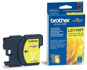 BROTHER LC-1100Y, žlutá