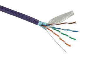 Inst.kabel Solarix CAT5E FTP LSOH 305m/box drát
