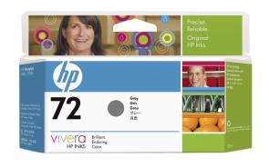 HP C9374A No. 72 Grey Ink Cart pro DJ T610/T1100, 130ml