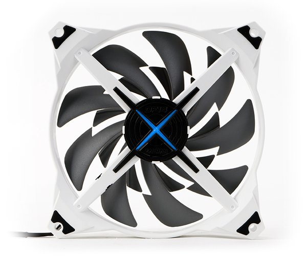 Zalman ventilátor ZM-DF14 SF 140mm, fan control, LED blue