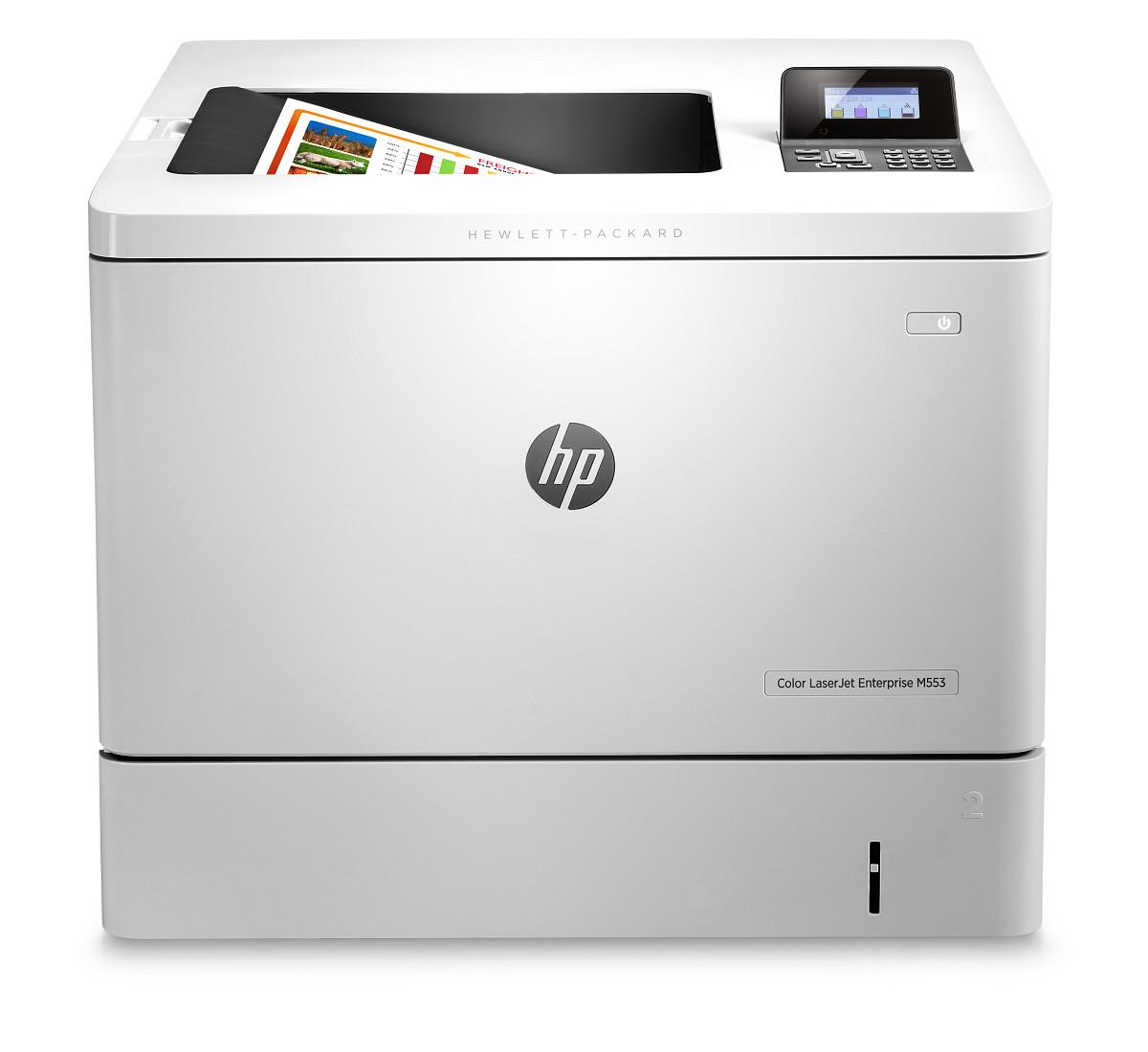 Tiskárna HP Color LJ Enterprise M553dn