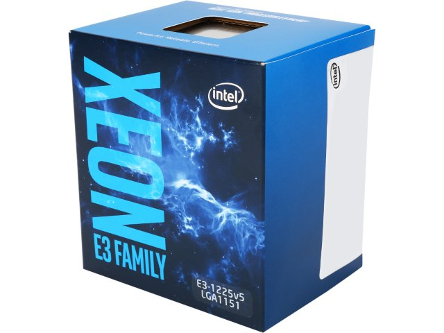INTEL Quad-Core Xeon E3-1225V5 3.3GHZ/8MB/Intel HD Graphics P530/LGA1151/Skylake