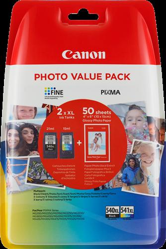 Canon BJ CARTRIDGE PG-540XL/CL-541XL PHOTO VALUE BL