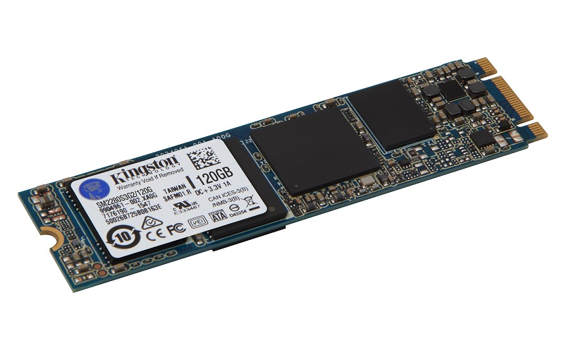 Kingston Flash SSD 120GB SSDNow M.2 SATA 6Gbps (Single Side)