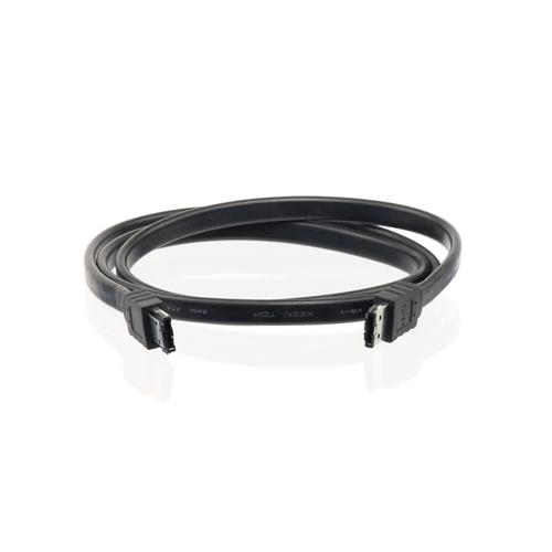 4World Kabel eSATA M - SATA II M 1.0m Black