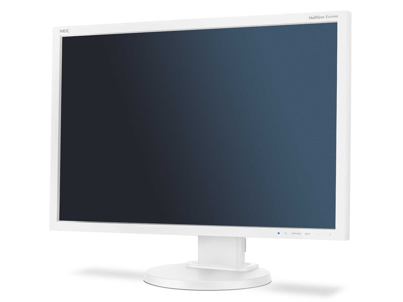 "NEC 24"" E245WMi - 1920x1200, PLS, W-LED, 250cd, D-sub, DVI, DP, Repro, bílý"