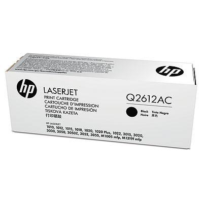 HP černý Contract Toner, Q2612AC
