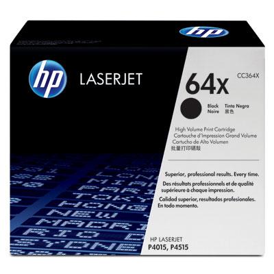 HP 64X - černý Contract Toner, CC364XC