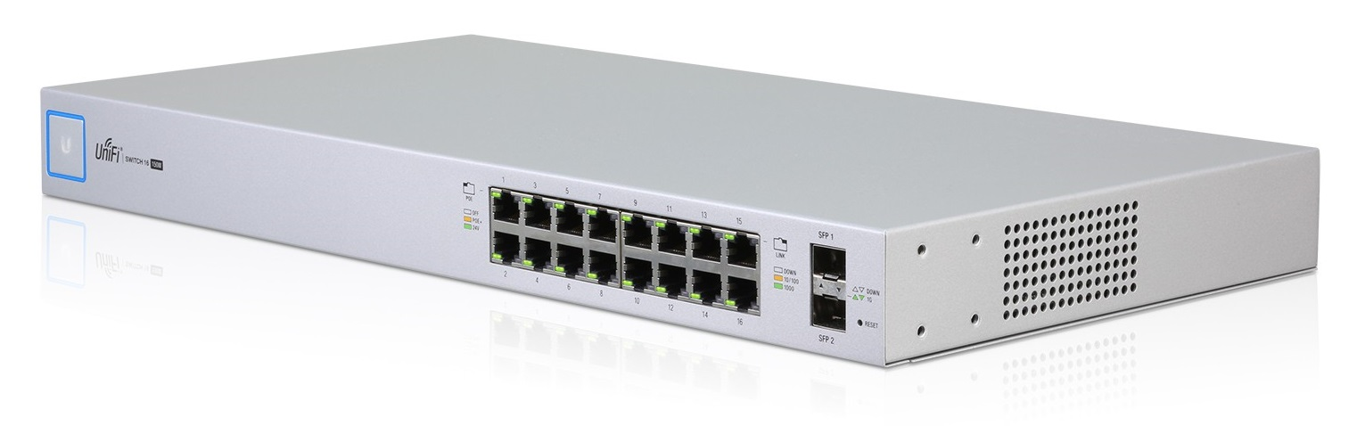 Ubiquiti UniFiSwitch US-16-150W - UniFi Switch, 16 ports, 150W